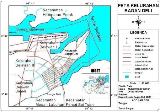 peta-sig-kelurahan-bagan-deli   GEOGRAPHY LOVERS