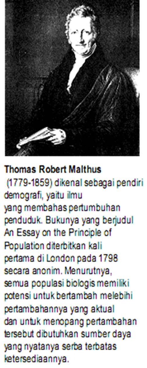 thomas robert malthus an essay on the principle of population How can the answer be improved.